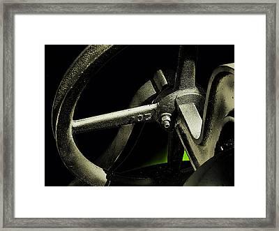 The Bell-ringer Framed Print by Wendy J St Christopher