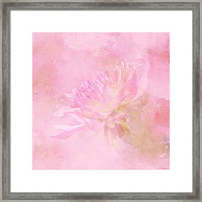The Best Things In Life Are Unseen - Flower Art Framed Print by Jordan Blackstone
