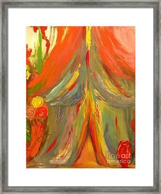 The Betrothal Tent 2 Framed Print by Deborah Montana