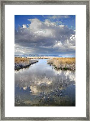 The Big Storm Framed Print by Guido Montanes Castillo
