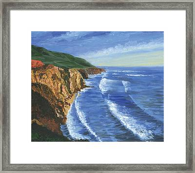 The Big Sur Framed Print by Harold Shull