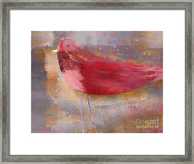 The Bird - J0911b2-s01 Framed Print by Variance Collections