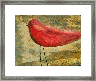 The Bird - K03b Framed Print by Variance Collections