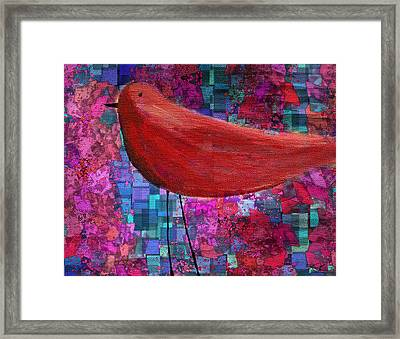 The Bird - S23a01bb Framed Print by Variance Collections