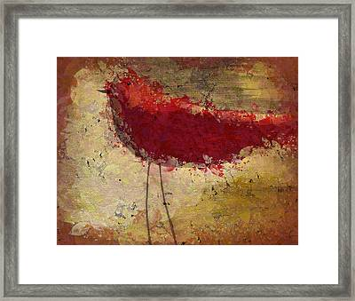 The Bird - S65b Framed Print by Variance Collections