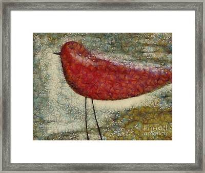 The Bird Sp0901 Framed Print by Variance Collections