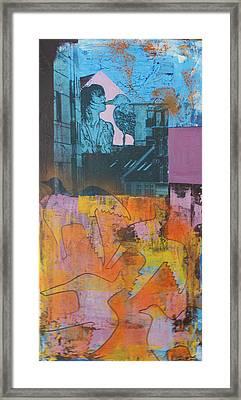 The Birdkiss Framed Print by Sanne Rosenmay