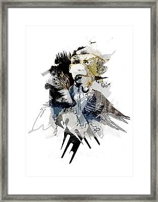 The Birdman Framed Print by Aniko Hencz