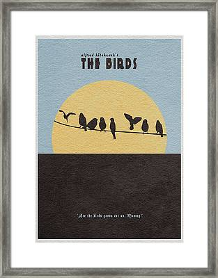 The Birds Framed Print by Ayse Deniz