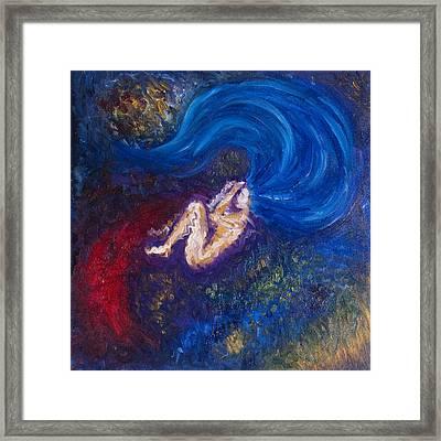 The Birth Of Sora Framed Print by Sora Neva