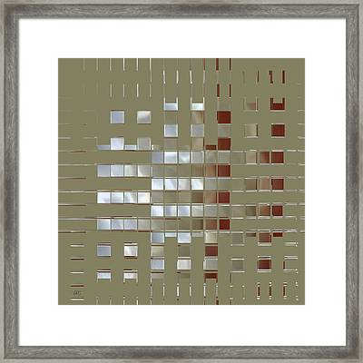The Birth Of Squares No 1 Framed Print by Ben and Raisa Gertsberg