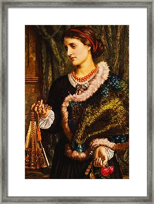 The Birthday Framed Print by William Holman Hunt