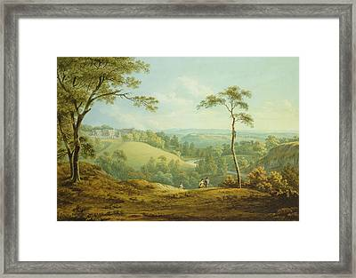 The Bishops Palace, Auckland Castle Framed Print by John Warwick Smith