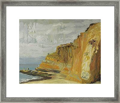 The Black Goose At Flat Rock Framed Print by Joseph Demaree