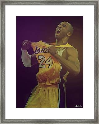 The Black Mamba Framed Print by Superior Designs