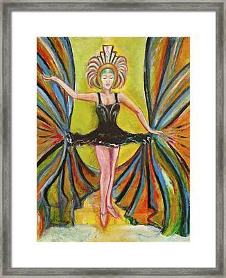 The Black Tutu Framed Print by Tom Conway