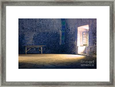 The Blue Room Framed Print by Bob Christopher