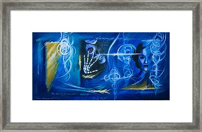 The Blue Witch Framed Print by James Christopher Hill