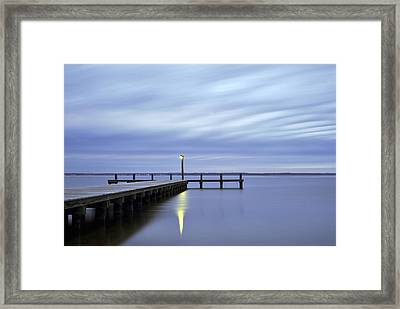 The Blues Lavallette New Jersey Framed Print by Terry DeLuco