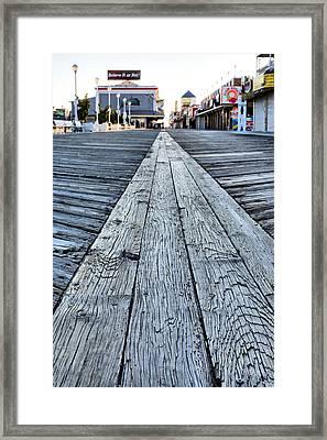 The Boardwalk Framed Print by JC Findley