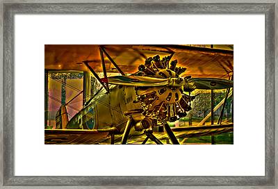 The Boeing Model 100 P-12 Framed Print by David Patterson