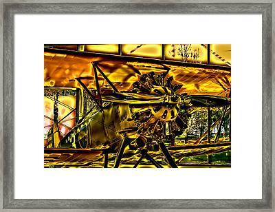 The Boeing Model 100 P-12 F4b Framed Print by David Patterson