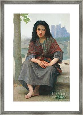 The Bohemian Framed Print by William Adolphe Bouguereau