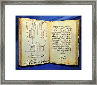 The Book Of Ingenious Devices Framed Print by Universal History Archive/uig