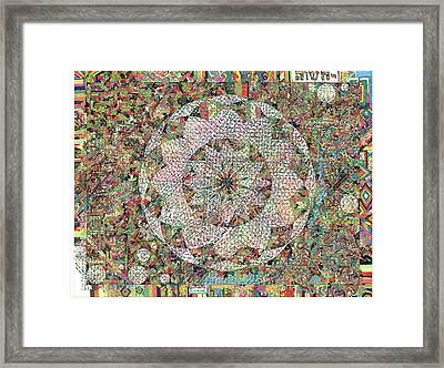 The Book Of John Framed Print by Phable Omsri