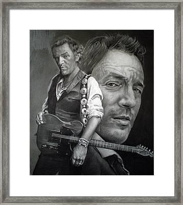 The Boss Framed Print by Raoul Alburg