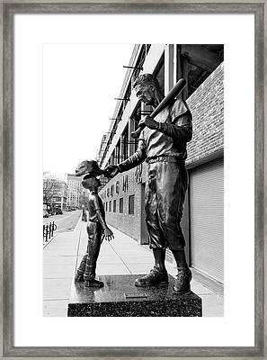 The Boston Legend Framed Print by Greg Fortier