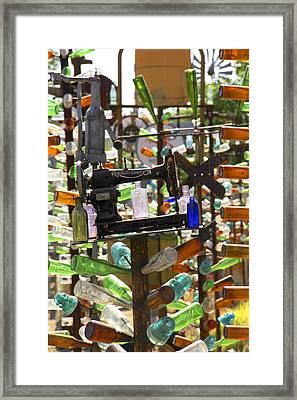 The Bottle Tree Ranch Framed Print by Mike McGlothlen
