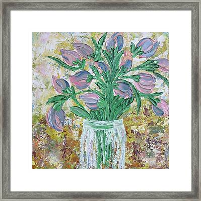 The Bouquet II Framed Print by Molly Roberts