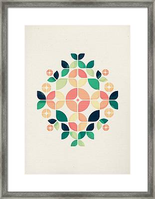 The Bouquet Framed Print by VessDSign