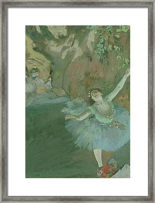 The Bow Of The Star Framed Print by Edgar Degas