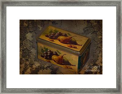 The Box Framed Print by The Stone Age