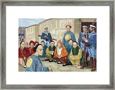 The Boxer Rebellion (1900 Framed Print by Prisma Archivo