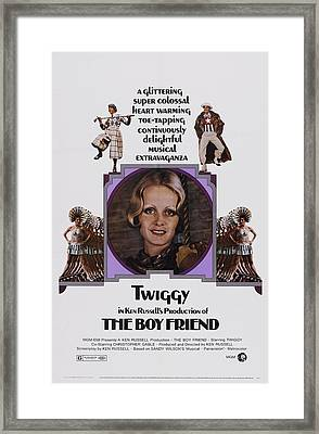 The Boy Friend, Us Poster Art, Twiggy Framed Print by Everett