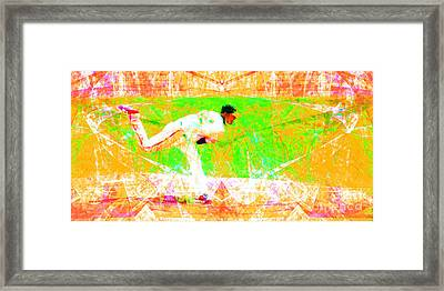 The Boys Of Summer 5d28161 The Pitcher V1 Long Framed Print by Wingsdomain Art and Photography