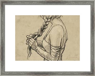 The Braid Framed Print by H James Hoff