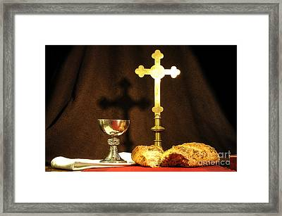The Bread Of Life Framed Print by Donald Davis