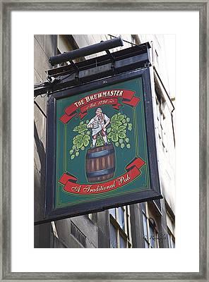 The Brewmaster Pub Framed Print by Cheri Randolph