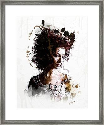 The Bridesmaid Framed Print by Gary Bodnar