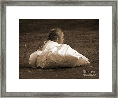 The Bridesmaid Framed Print by Terri Waters