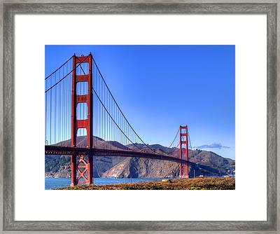 The Bridge Framed Print by Bill Gallagher