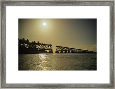 The Bridge Framed Print by Kristopher Schoenleber