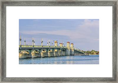 The Bridge Of Lions Framed Print by Rob Sellers