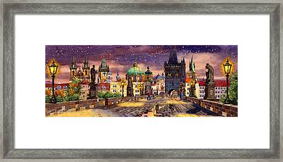 The Bridge Of Magic Framed Print by Dmitry Koptevskiy