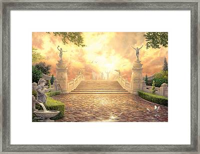The Bridge Of Triumph Framed Print by Chuck Pinson