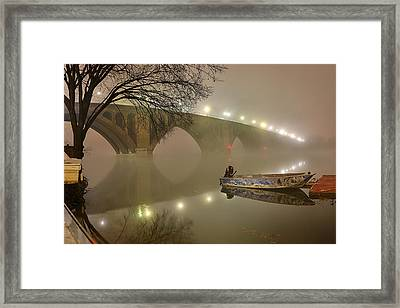 The Bridge To Nowhere Framed Print by Metro DC Photography